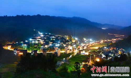 侗寨是黔东南州榕江县乐里镇大瑞村的一个自然村寨,全寨有583户,图片