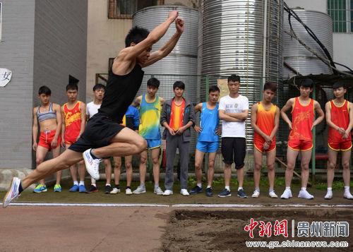贵州省2014年普通高等学校招生体育专业考试