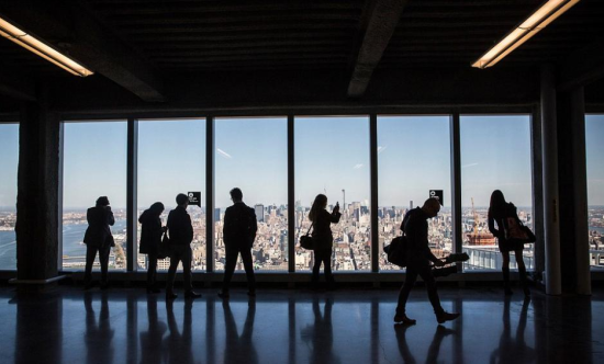 纽约/纽约世贸中心在9/11恐怖袭击13年后重新开放