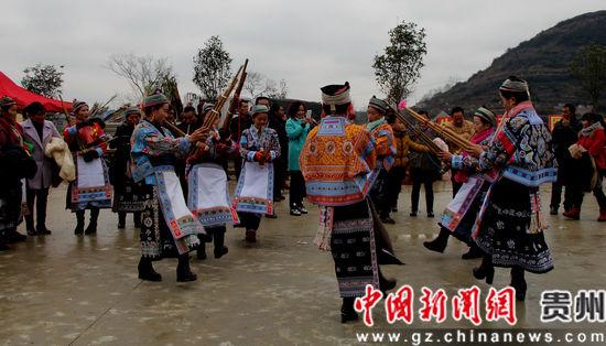 百年古村600户人家祭灶神